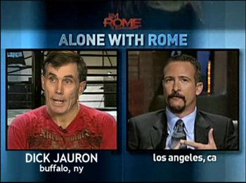Dick Jauron exudes strength on Jim Rome