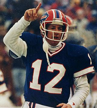 Jim Kelly Buffalo Bills QB Great